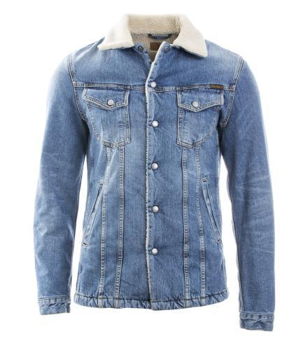 Nudie Jeans Lenny Tangerine Blue