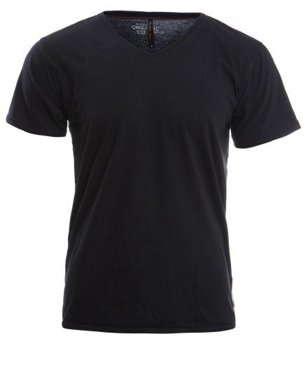 Nudie Jeans V-Neck T-Shirt XL   black
