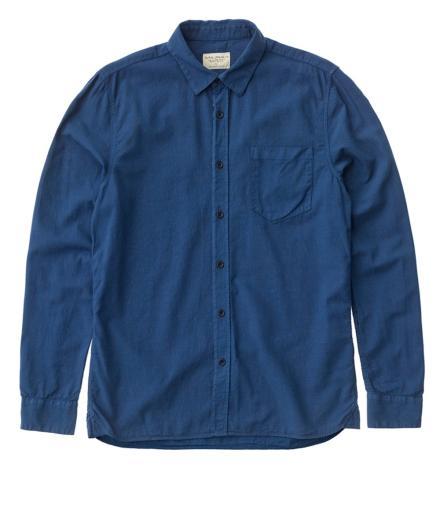 Nudie Jeans Henry Batiste Garment Dye oden blue | M
