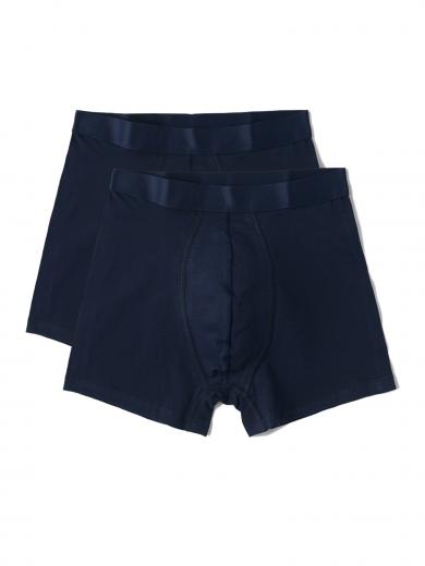 Organic Basics Organic Cotton Boxers Briefs 2-pack Navy