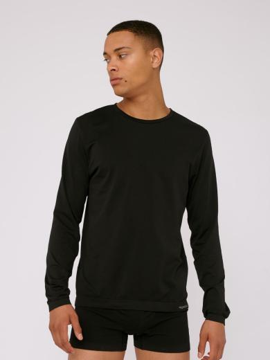 Organic Basics SilverTech™ Active Langarmshirt Black