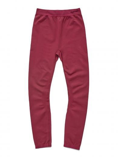 Organic Basics Silver Tech Active Leggins Burgundy