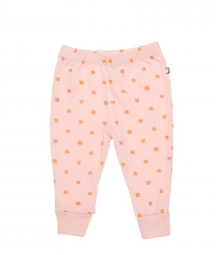 Oeuf Leggings 6M | pink