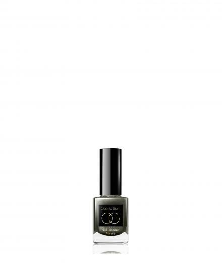 Organic Glam Nail Polish Deep Grey