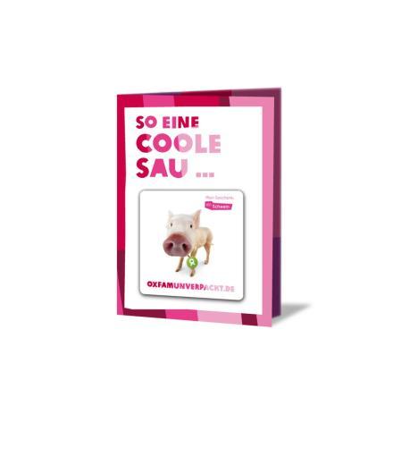 OxfamUnverpackt Schwein