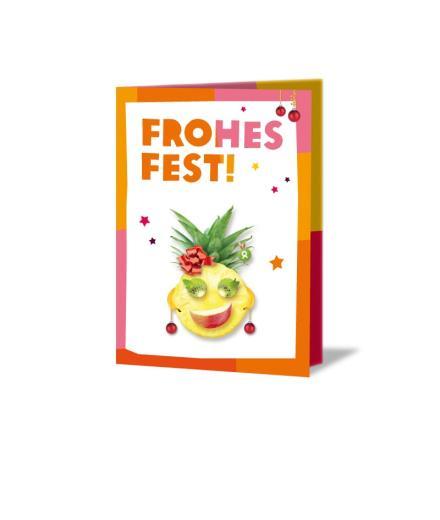 OxfamUnverpackt Frohes Fest Faire Früchte