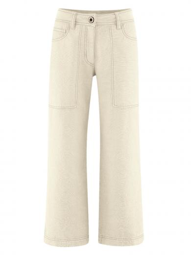HempAge Pants High Rise Nature