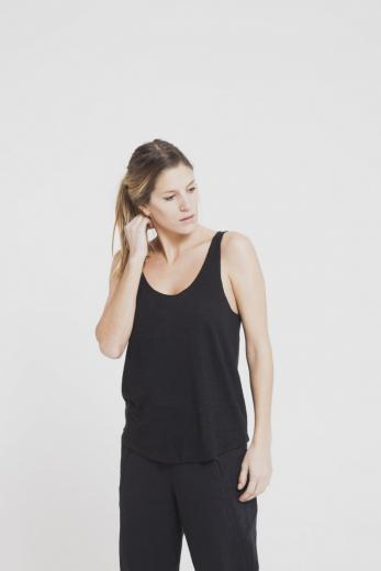 Thinking MU Hemp Tank Top Phantom | S