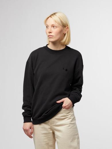 pinqponq Sweatshirt unisex Peat Black