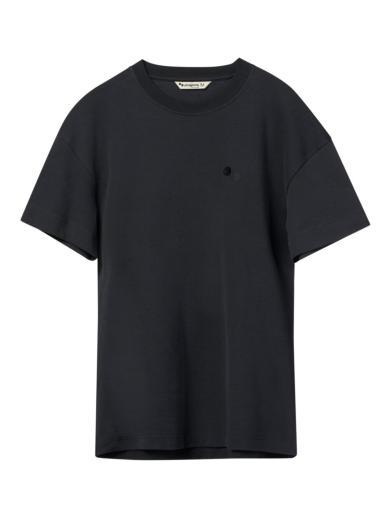 pinqponq T-Shirt Peat Black