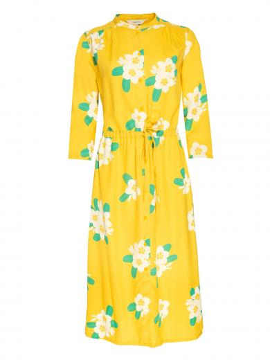 People Tree Savannah Plumeria Shirt Dress