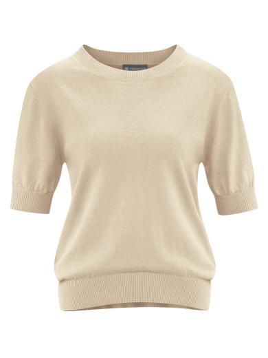 HempAge Short Sleeve Pullover Gobi