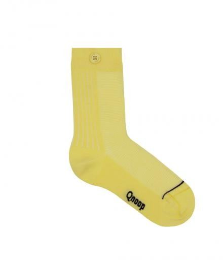 Qnoop 2 way rib Soft Yellow | 35-38