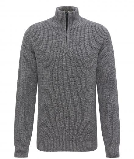 recolution Knitted Troyer anthracite grey L