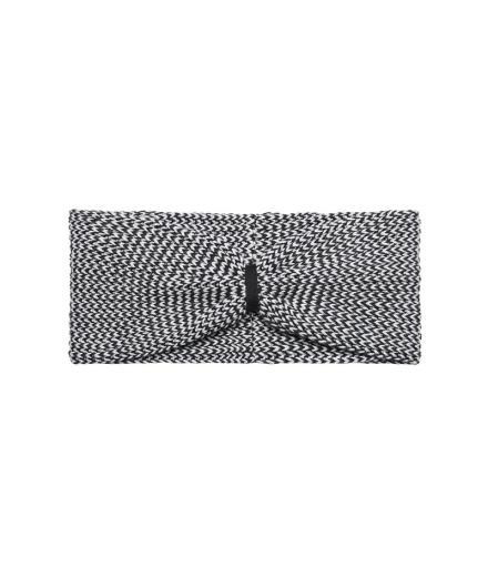 recolution Knit Headband grey/ black