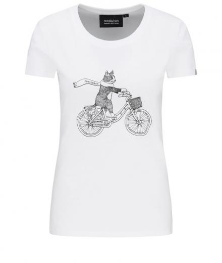 recolution Basic T-Shirt #CAT white