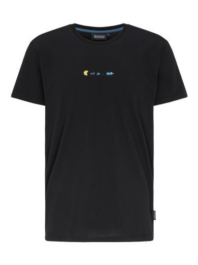 recolution Casual T-Shirt #TRASHMAN Black