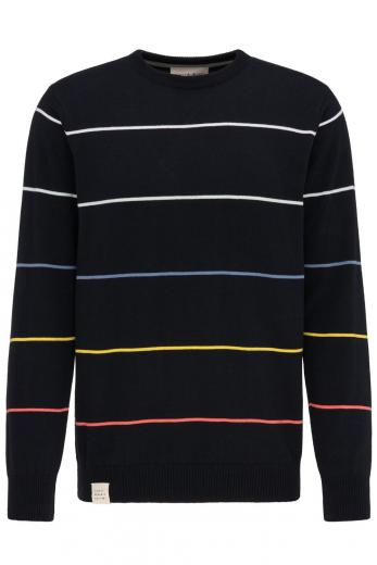 Knit Crew Neck #STRIPES