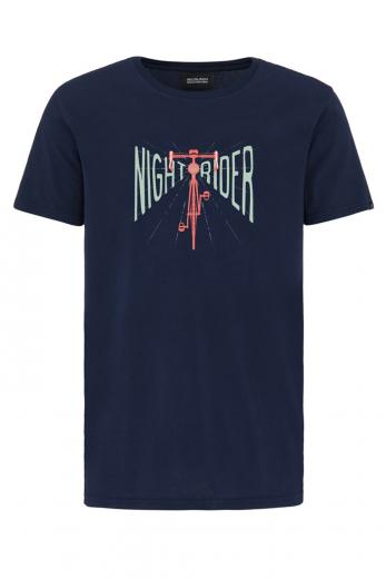 recolution Basic T-Shirt #NIGHTRIDER navy