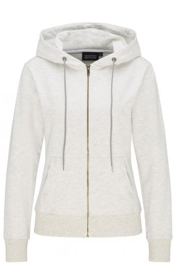 Basic Sweatjacket grey mélange | M