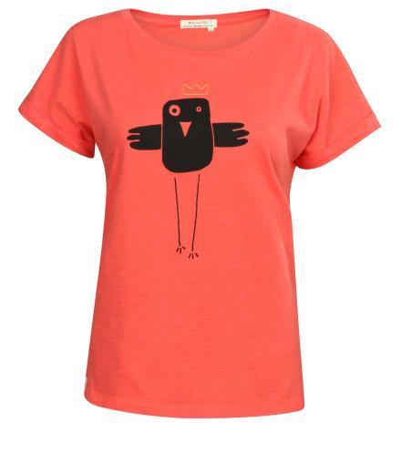 recolution T-Shirt Basic #BOBBIEQUEENIE Coral