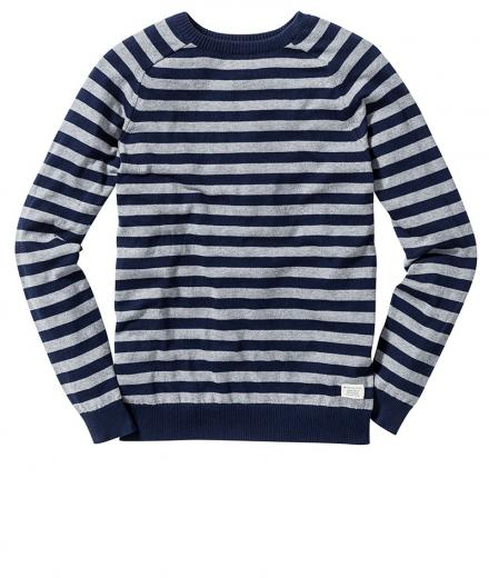 Recolution Strickpullover Crew Neck #Stripes