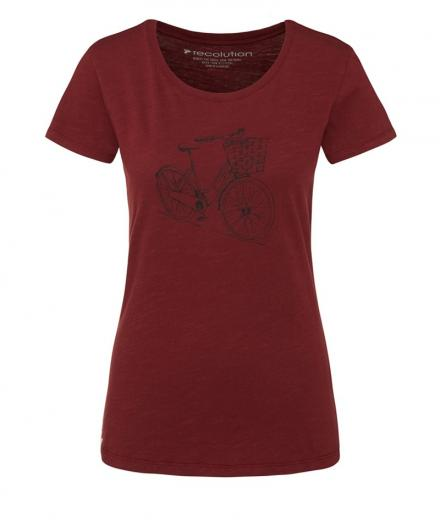 recolution T-Shirt Basic #DUTCHBIKE M | burgundy