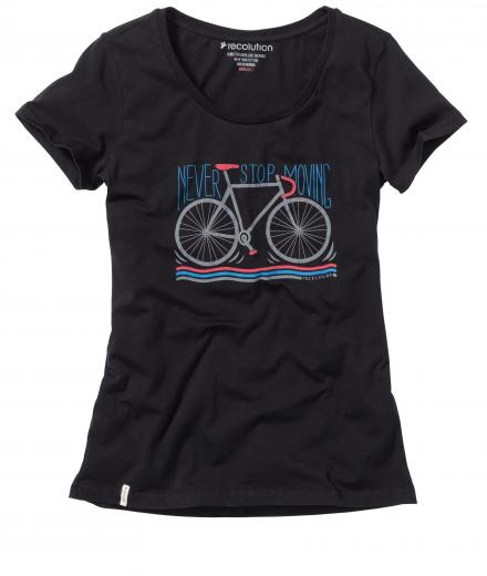 recolution T-Shirt Basic #Never Stop