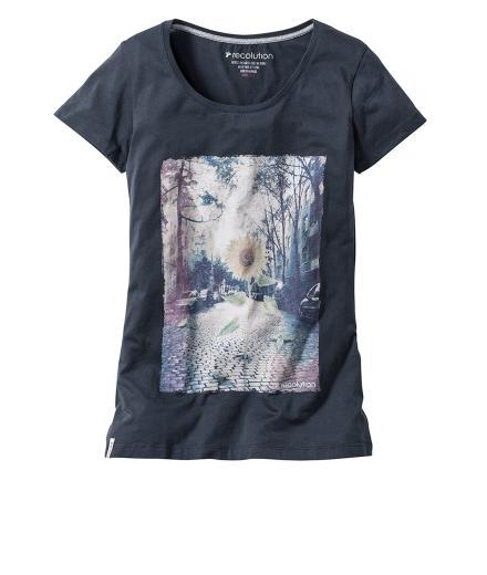 Recolution Frauen T-Shirt Basic #Breaking Out
