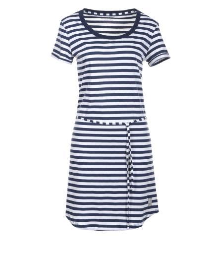 Recolution Kleid #Streifen Navy | M