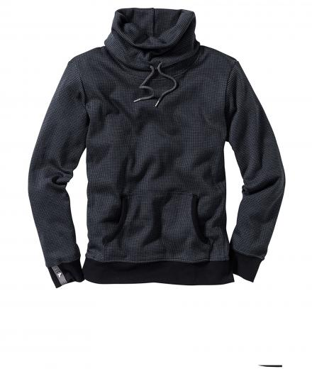Recolution Hoodie Tube Collar Checked
