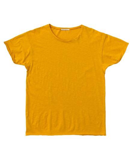 Nudie Jeans Roger Slub yellow | S