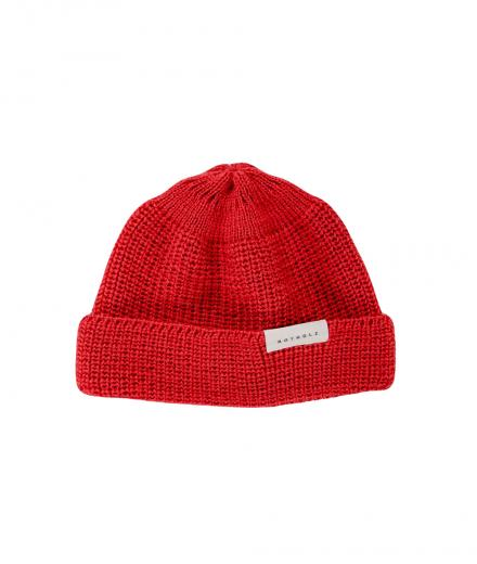Rotholz Cropped Beanie red
