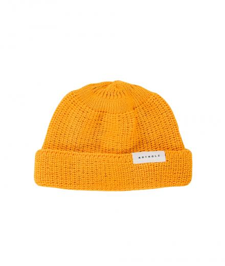 Rotholz Cropped Beanie yellow