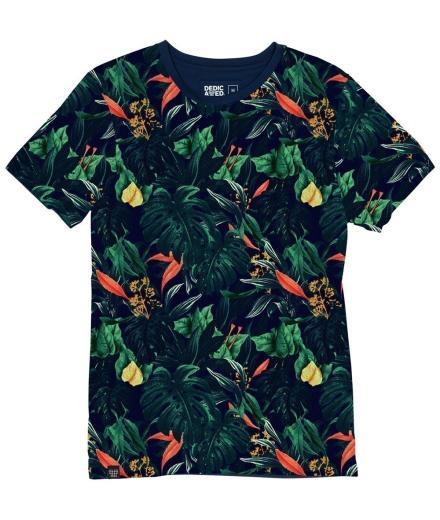 DEDICATED Stockholm T-Shirt Jungle Multi Color multicolour | M