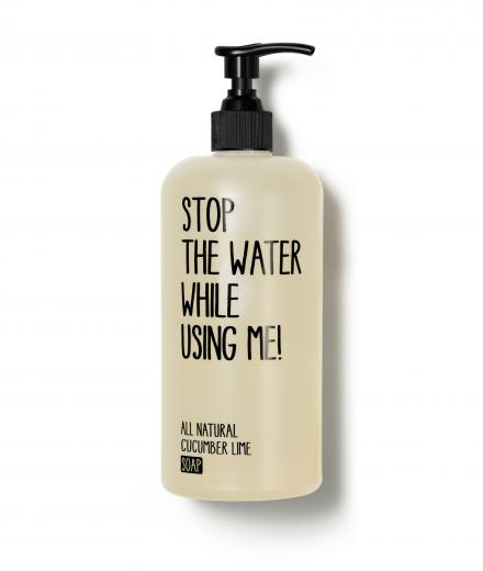 STOP THE WATER WHILE USING ME! Soap All Natural Cucumber Lime