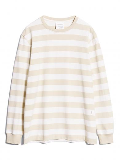 ARMEDANGELS Elmaar Stripes Off White