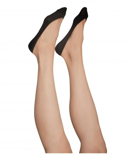 SWEDISH STOCKINGS Ester Steps / Two Pairs Black 40den S (35-38)