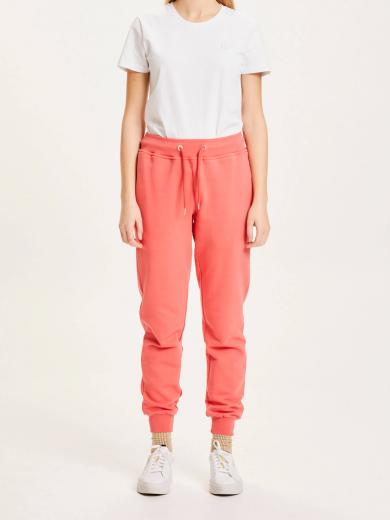 Knowledge Cotton Apparel TEAKY sweat pants spiced coral