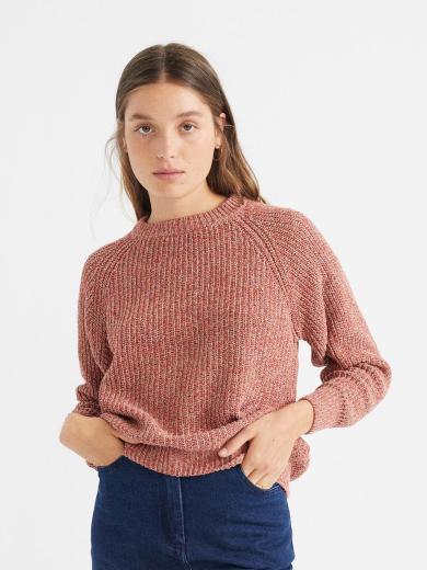 Thinking MU Trash Knitted Sweater