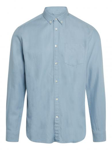 Knowledge Cotton Apparel LARCH Tencel Asley Blue