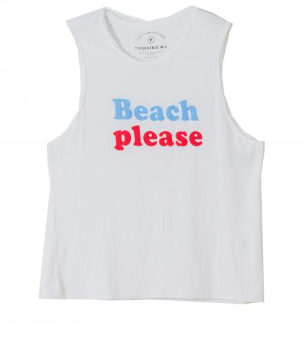 thinking mu Beach Please