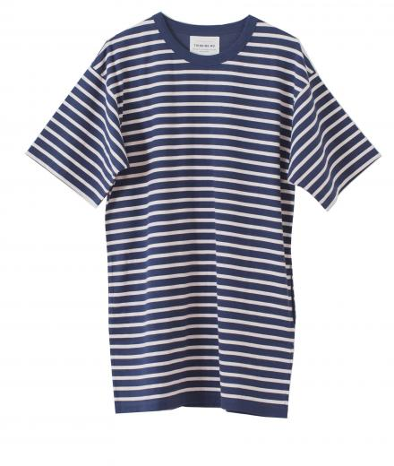 Thinking MU Dress Stripes Full