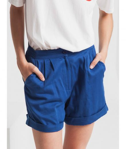 Thinking MU Blue Mamma Short blue marino | M