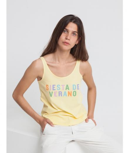 Thinking MU Siesta Tank Top yellow