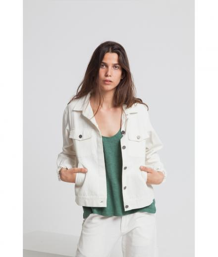 Thinking MU White Gypsy Jacket