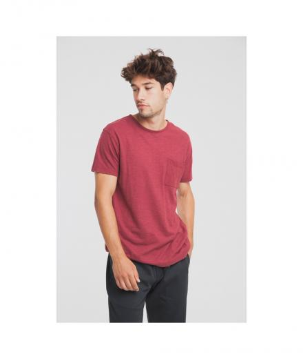Thinking MU Hemp T-Shirt cabernet | M