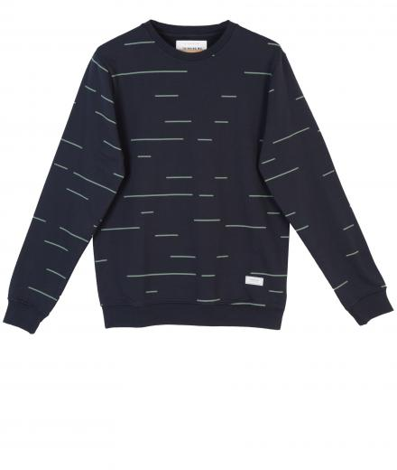Thinking MU Horizontal Lines Sweat