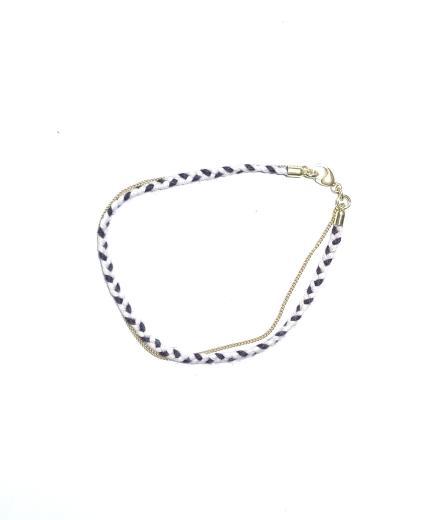 tinchens Flechtarmband Knit Marina