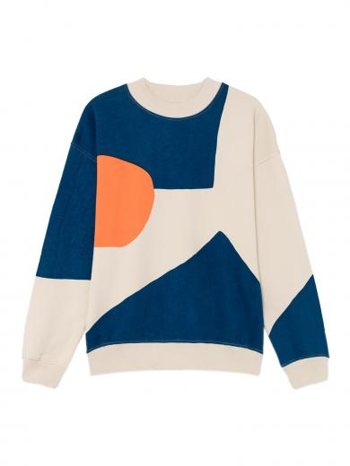 Thinking MU Fullprinted Sweater abstract